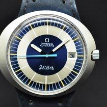 Omega Genève Steel 42mm Blue No numerals