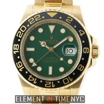Rolex 116718 Yellow gold GMT-Master II 40mm pre-owned United States of America, New York, New York