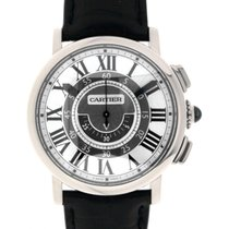 Cartier White gold 42mm Manual winding W1556051 new