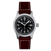 Hamilton Khaki Field Steel 38mm Black United Kingdom, London