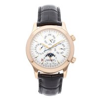 Jaeger-LeCoultre Master Memovox Rose gold 41.5mm Silver No numerals United States of America, Pennsylvania, Bala Cynwyd