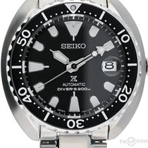 Seiko Prospex Сталь 42,00mm Чёрный Без цифр