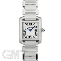 Cartier Tank Française Steel 20mm White