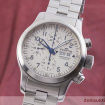 Fortis Steel 42mm Automatic 635.10.141 pre-owned