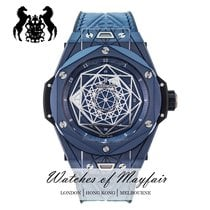 Hublot Big Bang Sang Bleu 415.EX.7179.VR.MXM19 New Ceramic 45mm Automatic