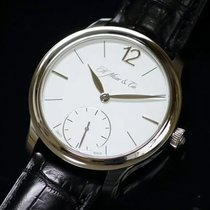 H.Moser & Cie. White gold Manual winding pre-owned Endeavour