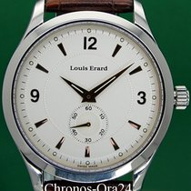 Louis Erard 1931 Steel 40mm Silver