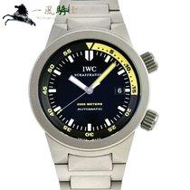 IWC Aquatimer Automatic 2000 Титан 42mm Чёрный