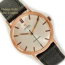Omega Seamaster Yellow gold 33mm Silver No numerals