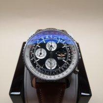 Breitling Montbrillant Olympus Steel 43mm Black No numerals