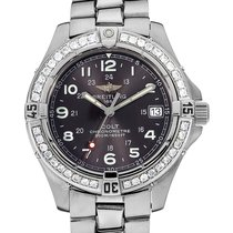 Breitling Colt A74350 Very good Steel 38mm Quartz