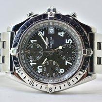 Breitling Chronomat Stahl 39mm Grau Arabisch Deutschland, Iffezheim