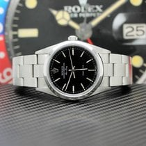 Rolex Air King Precision Steel 34mm Black Arabic numerals