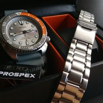 Seiko Prospex Steel 44mm Grey No numerals