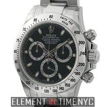 Rolex Daytona Acero 40mm Negro