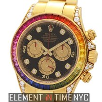 Rolex Daytona Yellow gold 40mm Black