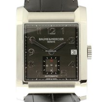Baume & Mercier Hampton Leather - NEW - with B + P...
