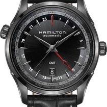 Hamilton Jazzmaster GMT H32685731 Herren Automatikuhr 2. Zeitzone