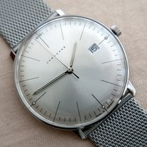 Junghans max bill Quarz Сталь 38mm Cеребро Без цифр