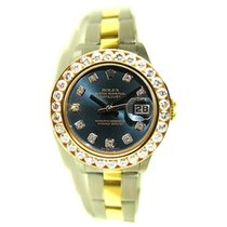 Rolex Datejust Lady's Steel & 18K Yellow Gold Oyster...