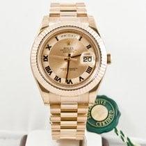 Rolex Day-Date II nuevo 2015 Automático Reloj con estuche y documentos originales 218235