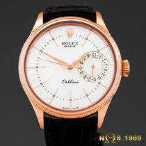 Rolex Cellini Date 18K Rose Gold Automatic Box & Papers