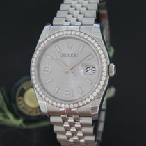 Rolex Oyster Perpetual Datejust Diamond Bezel and Diamond Dial...