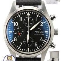IWC Pilot Chronograph Black Day Date 42mm 1 IW371701  Watch
