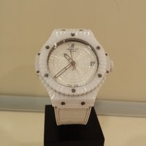 Hublot Big Bang Caviar Ceramic 41mm White No numerals