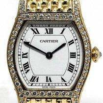 Cartier Gelbgold Handaufzug Tortue gebraucht Deutschland, München