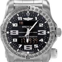 Breitling Emergency new Quartz Watch with original box and original papers E76325I1/BC02/156S/E20DSA.2