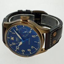 IWC Bronze Automatic Black Arabic numerals 46mm pre-owned Big Pilot