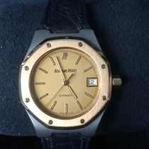 Audemars Piguet Royal Oak cuir tantalum and rose gold 18k very...
