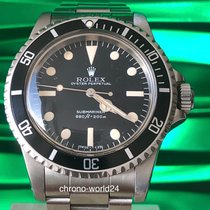 "Rolex Submariner 5513 Maxi MK3 ""Lollipop"" B&P & orig sales..."