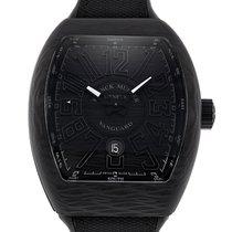 Franck Muller Watch Vanguard V 45 SC DT CARBON NR