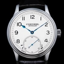 Cornehl 42mm Manual winding new Silver