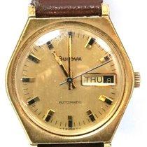 Bulova Vintage Bulova Automatic 10KT Heavy Gold Electroplate...