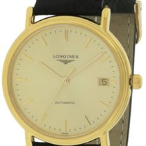 Longines Presence Leather Automatic Ladies Watch