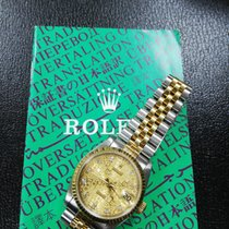 Rolex Gold/Steel Automatic 68273 Datejust boy size in half gold pre-owned