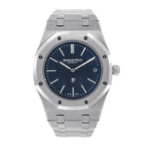 Audemars Piguet Royal Oak 39mm Jumbo Extra-Thin Blue Dial...