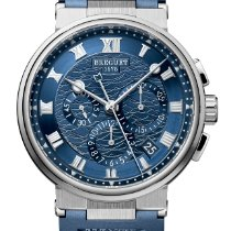 Breguet Chronograph 42.3mm Automatic 2019 new Marine Blue