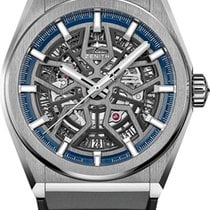 Zenith Defy Titanium 41mm Transparent No numerals United States of America, New York, New York