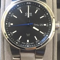 Oris Williams F1 Zeljezo 42mm Crn