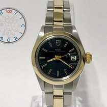 Tudor Prince Oysterdate Gold/Steel 25mm Black