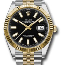 Rolex Datejust Gold/Steel 41mm Black United States of America, New York, NY