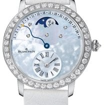 Blancpain Women White gold 36mm Mother of pearl