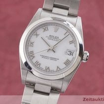 Rolex Lady-Datejust Zeljezo 30mm Bjel