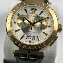 Versace Acero 45mm Cuarzo Versace Aion Chronograph VE1D002 19 nuevo