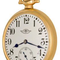 Ball Sat rabljen Zuto zlato Arapski brojevi Rucno navijanje Samo sat