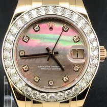 Rolex Or rose Remontage automatique Nacre 34mm occasion Pearlmaster